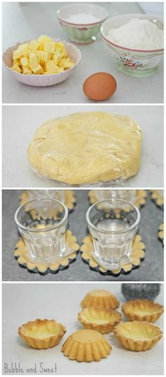 Homemade Sweet Pastry Shell Recipe by Bubble and Sweet