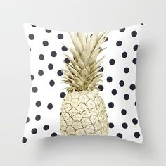 Black Golden Geometric Cushion Cover Peach Skin Pineapple Sofa Modern Decorative Pillowcases Office Living Room Home Decor Decorative Pillow Cases, Throw Pillow Cases, Decorative Cushions, Pillow Covers, Black And White Sofa, Geometric Cushions, Gold Pineapple, Affordable Home Decor, Throw Cushions