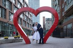 A surprise performance from a bagpiper was a treat for this couple and their guests!Read more › Wedding Guest Outfit Inspiration, Handfasting, Favorite Person, Floral Arrangements, Real Weddings, Toronto, 1950s, Wedding Photos, Couples