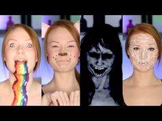 7 Snapchat Filters Makeup Tutorial/DIY (CC) - YouTube