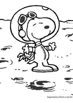 Snoopy Astronauta