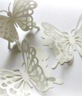 Snow White Butterfly Stickers