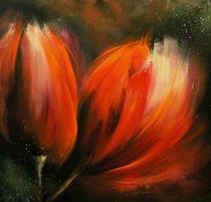 love, love, love. art studio atelier28: tulips from Amsterdam II - new paintings (nieuwe schilderijen)