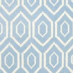 @Overstock - Moroccan inspired design and dense hand-woven wool pile highlight this handmade dhurrie rug. This floor rug has a blue background and displays stunning panel colors of ivory.http://www.overstock.com/Home-Garden/Moroccan-Dhurrie-Blue-Ivory-Wool-Rug-4-x-6/6830736/product.html?CID=214117 $88.39