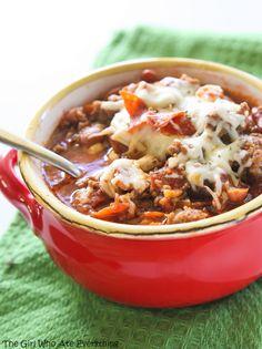 Amazing Pizza Chili Recipe / And 49 Chili Recipes