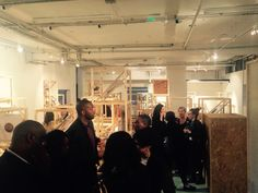 Opening night at the nursery gallery