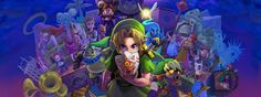You've met with a terrible fate, haven't you? Majora's Mask is not your typical Zelda game. It was released at a time when Nintendo wanted to make some ch