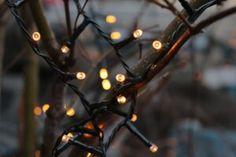 Vánoční LED světelný řetěz k osvětlení vašeho domu, balkónu, či stromečku Led