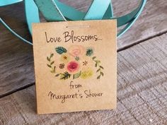 Personalized MINI Floral Bridal Shower Favors Flower Seed | Etsy#bridal #etsy #favors #floral #flower #mini #personalized #seed #shower Bridal Shower Flowers, Bridal Shower Favors, Lavender Seeds, Back Message, Seed Wedding Favors, Wildflower Seeds, Seed Packets, Sunflowers, Wildflowers