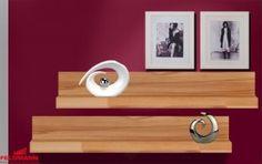 Wandboard 2er Set Wohnzimmer Regal kernbuche teilmassiv 90cm Neu