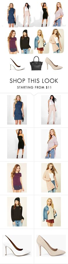 """""""Best sellers in the world"""" by cate-jennifer ❤ liked on Polyvore featuring Boohoo and Forever 21"""