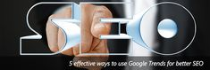 Google Trends is more than meets the eye apparently. It can potentially make your SEO better. Check out how. Internet Marketing Company, Seo Tools, Search Engine Optimization, Social Media Marketing, Trends, Eye, Google, Check, Internet Marketing Firm