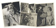 Love, Shirley Temple, Collector's Book: Lot # 373 Autographed Photograph of Joan Crawford and Photos of Crawford and Temple Together