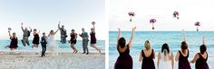 Destination wedding, Mexico wedding, beach wedding, bridal party