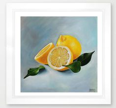 #natura #morta #limoni stampa di qualità di dipinto a di lauracorre #still #life #lemons #citrus #fruit #painting