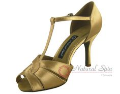Natural Spin Tango Salsa Shoes/Tango Shoes/Fashion Shoes(Small Open Toe):  T1301
