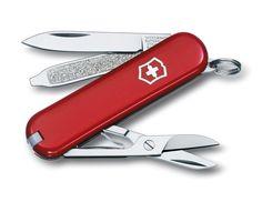 Victorinox Kleines Taschenwerkzeug Classic, rot, 0.6223: Amazon.de: Sport & Freizeit