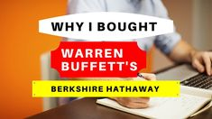 A quick discussion on the reasons I bought stock in Warren Buffett's Berkshire Hathaway. We all know of the investment success Warren Buffett has achieved at. Intrinsic Value, Warren Buffett, What Happens When You, Meant To Be, Investing, Give It To Me, Success, Youtube