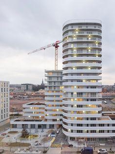 New'R – stephane chalmeau New R, Construction, Pablo Neruda, Multi Story Building, Concept, Architecture, Nantes, Building