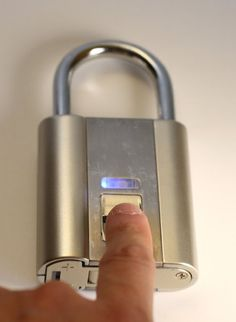 iFingerLock Fingerprint Biometric Padlock - Amazon.com
