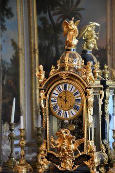 Château de Chantilly - Musée Condé - Grands Appartements - Chambre de M. le Prince, via Flickr.