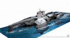 military submarine by ~NikYeliseyev on deviantART