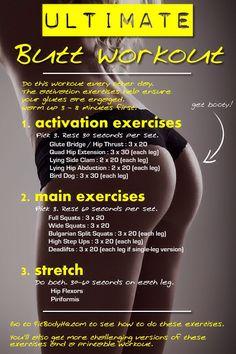 How To Get Your Dream Bum #Health #Fitness #Trusper #Tip