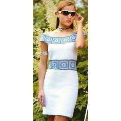 Beautiful crochet women summer dress