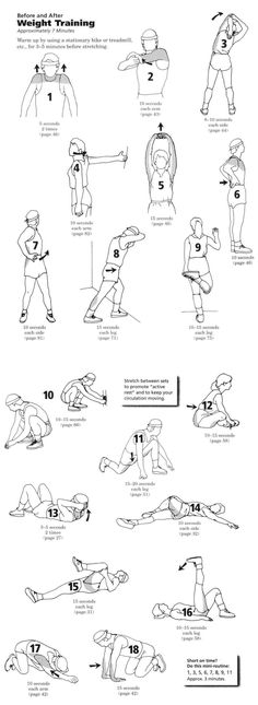 "printable stretching sheet | Stretching: Scan , "" Stretching ""(Bob Anderson)"