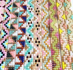 Des idées de design pour les bracelets à tisser