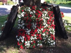 Planters-flowers-gardening-pallet
