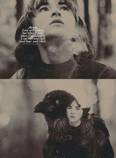 Fan Art of Bran Stark for fans of Game of Thrones.