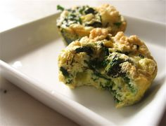 Egg Muffins (With Spinach and Zucchini)