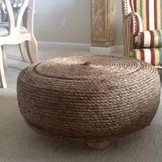 Recycled tire into table