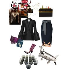"Monday evening book club ""Tequila Mockingbird"" by palmgrass99 on Polyvore featuring Gucci, Roksanda, Sofie D'hoore, Prada, Charlotte Olympia and Tequila Mockingbird"