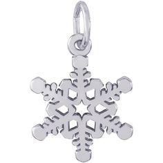 Small Snowflake Charm