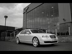 white bentley - dream car