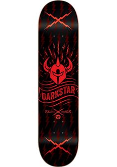 Darkstar Axis, Deck, black-red Titus Titus Skateshop #Deck #Skateboard #titus…