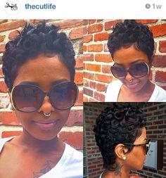 Pretty curls on short hair @thecutlife @hairbydanni