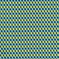 Chevrona   Azul :: Mixteca by Eleanor Grosch for Cloud9 Fabrics