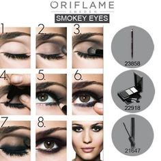 Smokey eyes by Oriflame ! http://my.oriflame.es/malena