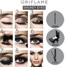 Smokey eyes by Oriflame !