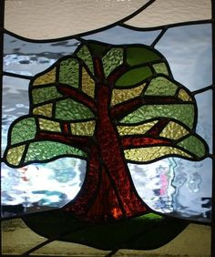 Tree of Life...Cariad Stained Glass again, so talented.