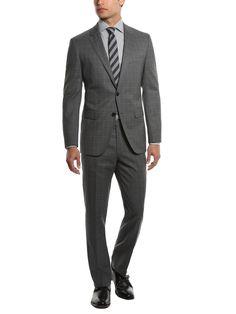 Boss Black - James Sharp plaid suit