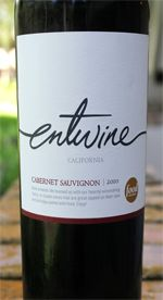 the Edible Bachelor - Thirsty Thursdays - entwine Cabernet Sauvignon 2010 - Great wine for any occasion!