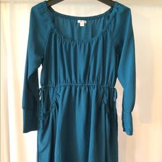 Teal everyday dress Great teal dress, easy to wear, with pockets! (I love pockets in dresses!) Xhilaration Dresses Mini