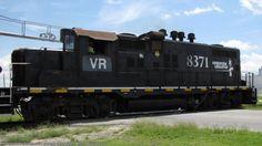 VR 8371   Description:    Photo Date:  7/17/2009  Location:  Valdosta, GA   Author:  Allan Williams Jr.  Categories:  Roster,Action  Locomotives:  VR 8371(GP10)