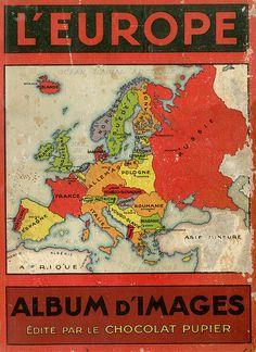 French map album