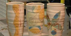 How to Use Underglazes for Slip Trailed and Silk Screened Applique - Ceramic Arts Network