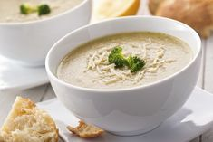 Broccoli and Cheese Soup Recipe with cheddar. #MyHarmons